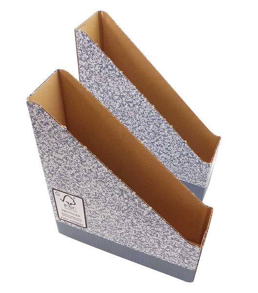Vente en gros de 10 bo tes 10 bo tes classeurs carton recycl construire ebay - Boite en carton recycle ...