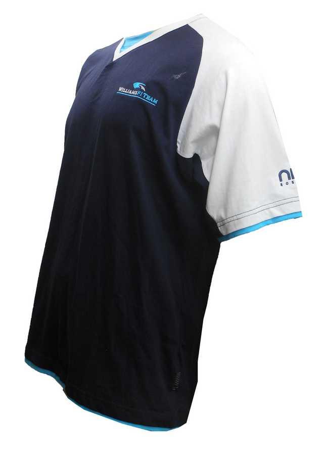 5x mens williams f1 team nico rosberg navy polo shirt xl for Mens 5x polo shirts