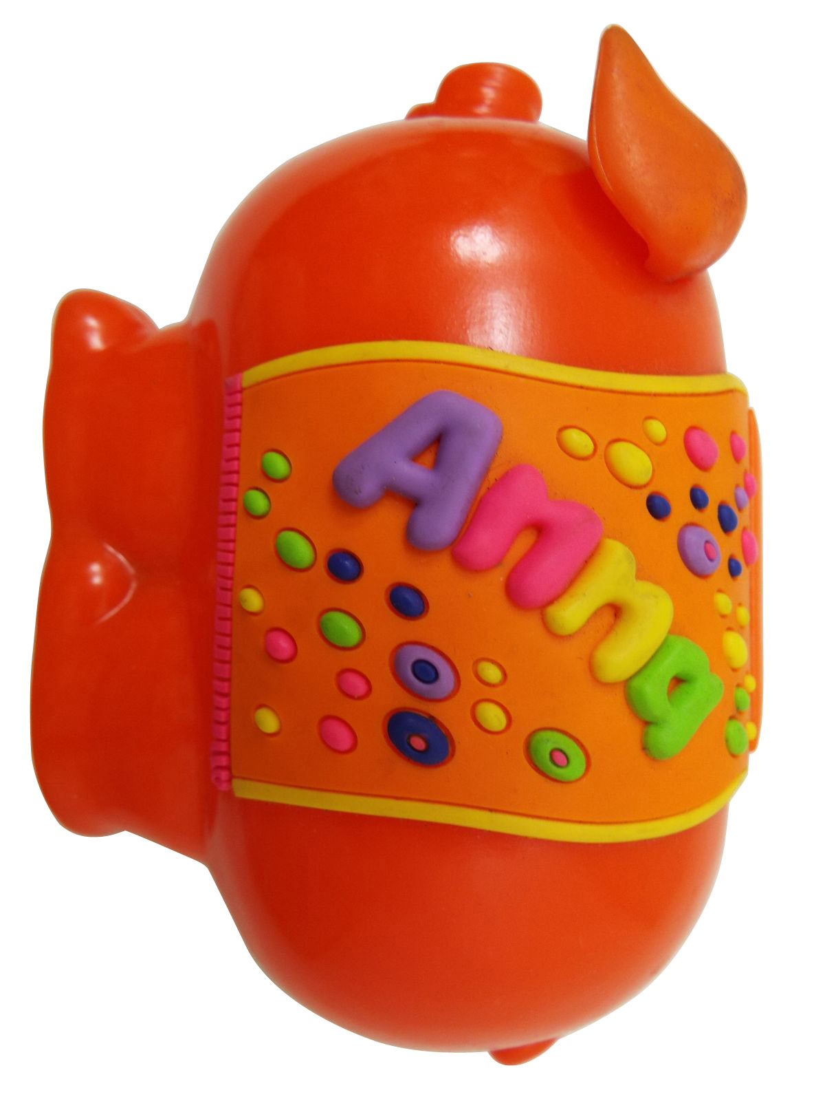 Childrens colourful personalised piggy banks for Childrens piggy bank