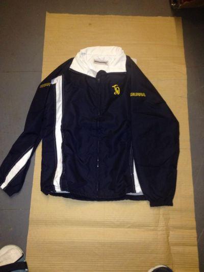 kookaburra training jacket navy xsmall x 24