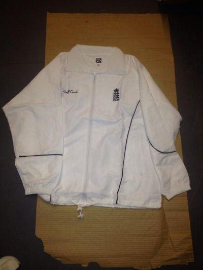 ecb cricket coach jacket large x 24