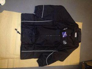 kookaburra padded jacket black small x 12