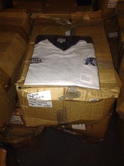 readers kent cricket shirt  25 large 19 medium