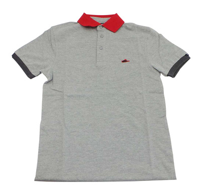 Joblot of 6 Atticus Polo Shirts 'Taylor Polo' Mens Grey & Red XS & XL