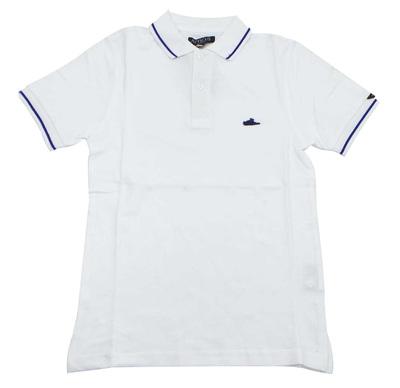 Joblot of 15 Atticus Polo Shirts 'Sant Polo' Mens White & Blue XS, S & XL