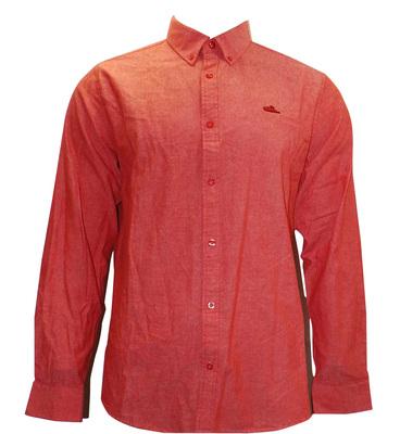 Joblot of 10 Atticus Shirts Button-Down Mens 'Resist' Red/Orange XS