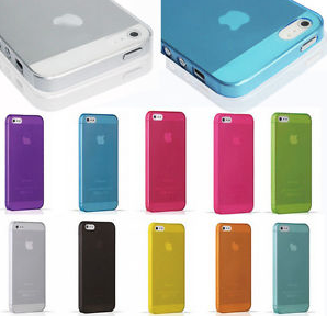 600 x Mix Transparent Back Cover Colour Case For iPhone 4/4s - 5/5s/5c Samsung Note5/ S6 & S6 EDGE