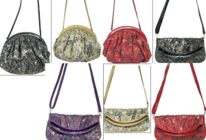Parcel of 40 mixed ladies shoulder handbags 7 styles 5132/5133