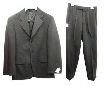 One Off Joblot of 3 Mens Black Varteks International Evening Suit 273
