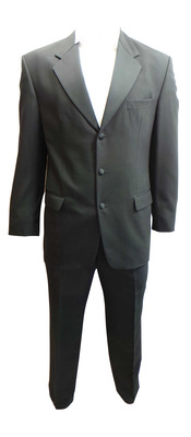Wholesale Joblot of 5 Mens Varteks International Black Evening Suits Ex Hire 237