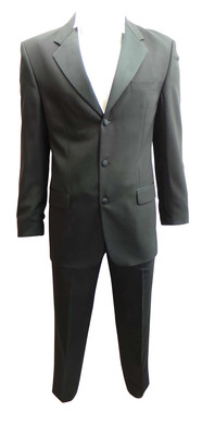Wholesale Joblot of 5 Mens Varteks International Black Evening Suits Ex Hire 236