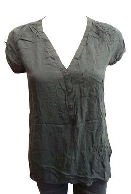 Wholesale Joblot of 10 Ladies De-Branded Black V-Neck Tops Sizes 14 & 20
