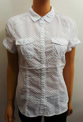 Wholesale Joblot of 10 Ladies De-Branded White Target Patterned Blouses