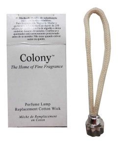 Wholesale Joblot of 36 Colony Perfume Lamp Replacement Cotton Wicks