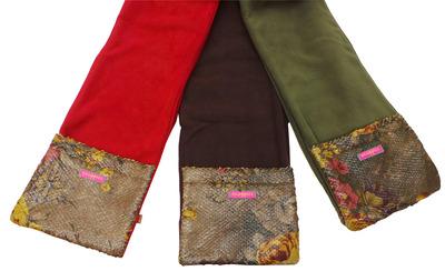 Wholesale Joblot of 10 Ladies Cloppies Floral Polar Fleece Scarves SCA08