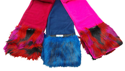 Wholesale Joblot of 18 Ladies Cloppies Flash Scarves Two Colours SCA05