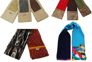 Wholesale Joblot of 20 Assorted Cloppies Scarves Ladies