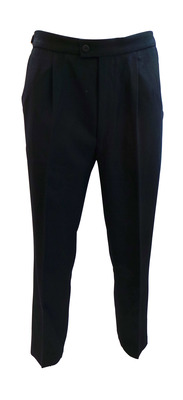 Wholesale Joblot of 10 Mens Smart Navy Morning Plain Trousers Ex Hire