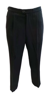 Wholesale Joblot of 10 Mens Smart Black Morning Plain Trousers Ex Hire