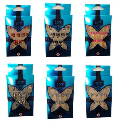 Wholesale Joblot of 100 Boxes of 12 XT Artnails 12 Sizes Various Designs