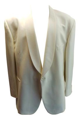 Wholesale Joblot of 7 Mens Plus Size Varteks Int. White Evening Suit Jackets