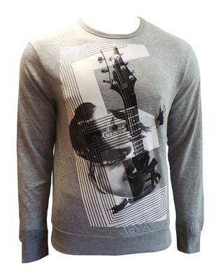 Wholesale Joblot of 10 Mens Gio-Goi 'Rathy' Grey Long Sleeve Tops Sizes S-XL