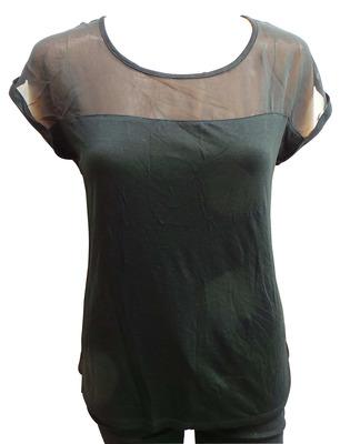 Wholesale Joblot of 100 Ladies De-Branded Black Blouse Tops Good Mix of Sizes