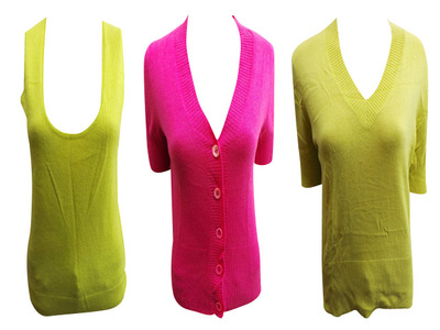 One Off Joblot of 7 Ladies Cashca Cashmere Knitwear Jumpers Cardigans Tank Top