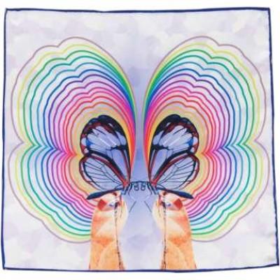 Selection of Printed 100% Silk Pocket Squares