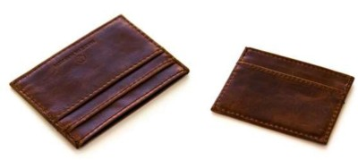 Selection of Handmade Leather Men's Card Holders