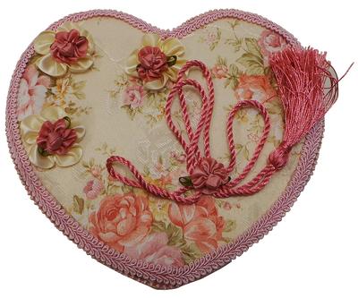 One Off Joblot of 5 Madame Posh Heart Shaped 'Bonita' Jewellery Boxes 11073