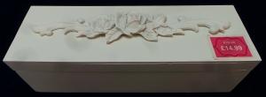 One Off Joblot of 9 Madame Posh 'Bara' Floral Trinket Boxes 41197