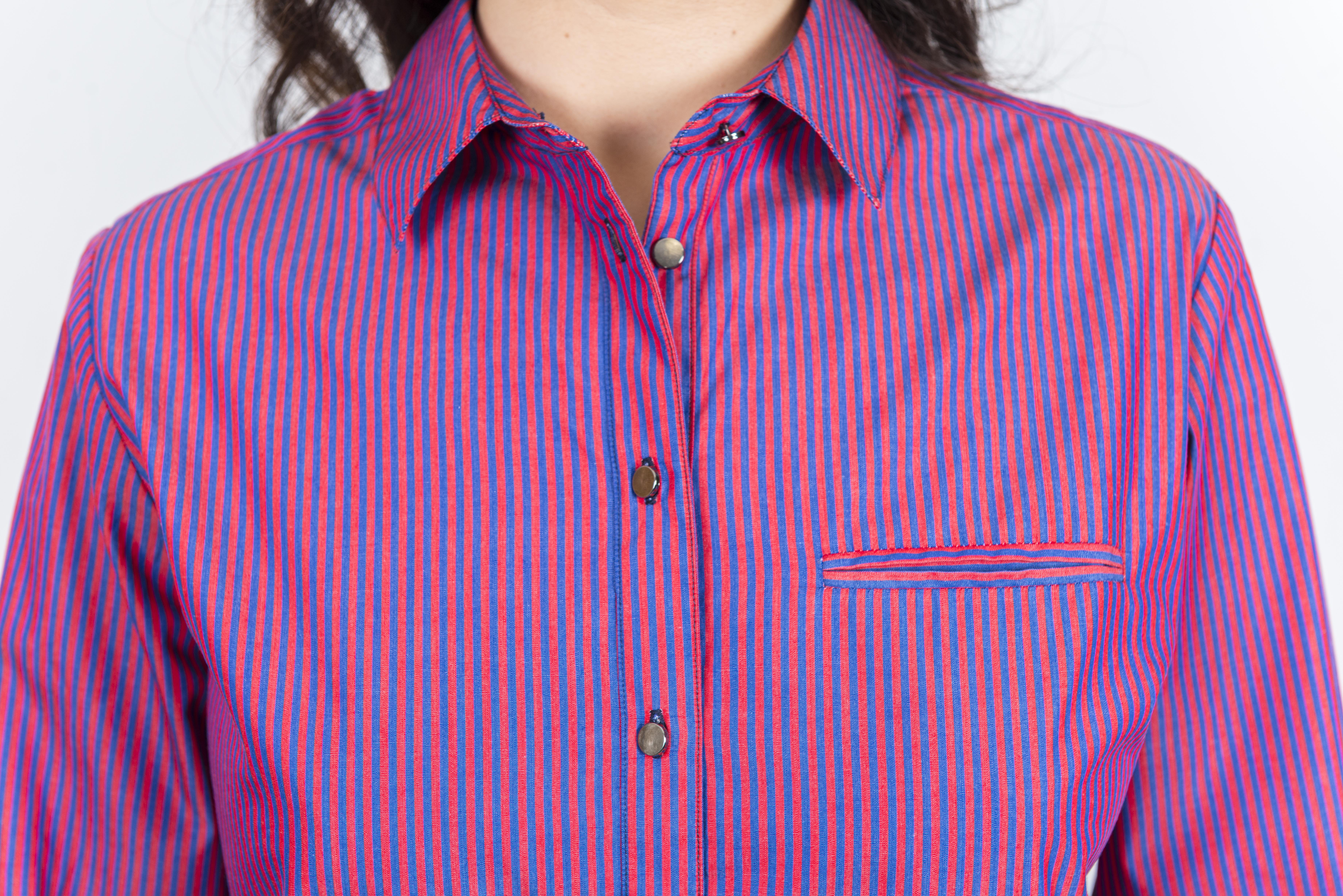 Summer Women's Cotton Tops Full Sleeve