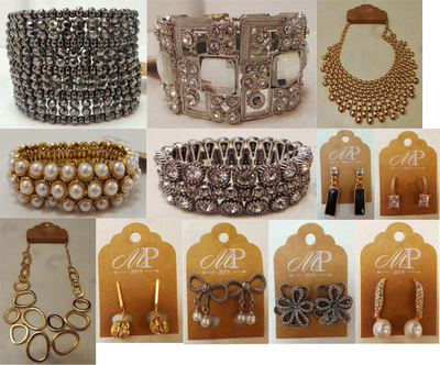 Wholesale Joblot of 30 Madame Posh Jewellery - Bracelets, Earrings & Necklaces