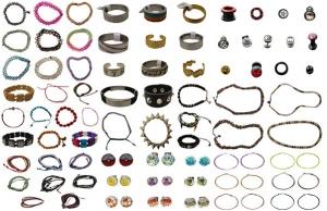 Wholesale Joblot of 500 Mixed Jewellery Ladies & Mens Huge Range Lords