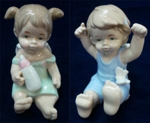 Wholesale Joblot of 27 Madame Posh 'Karin' Angel Figurines 2 Styles 40149