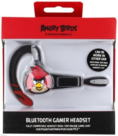 Job lot of 48 x Angry Birds Bluetooth Gamer Wireless Headset Sony PlayStation 3 PS3