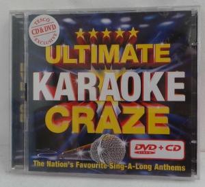 Wholesale Joblot of 100 Ultimate Karaoke Craze CD & DVD 15 Classic Songs