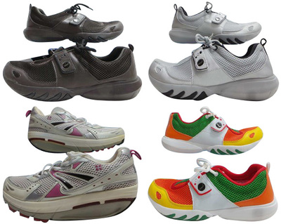 One Off Joblot of 6 Glagla & Natural Sport Unisex Trainers 2 Styles 5 Colours