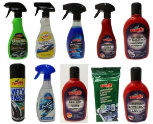Wholesale Joblot of 50 Assorted Turtle Wax Car Products