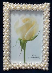 One Off Joblot of 14 Madame Posh Alice Diamante & Faux-Pearl Photo Frames 11026