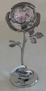 Wholesale Joblot Of 12 Crystocraft Silver Rose Special Dancer Gifts SP413