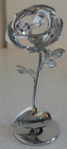 Wholesale Joblot Of 12 Crystocraft Silver Rose Christening Gifts SP403