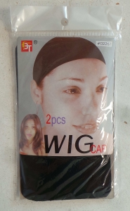 Wholesale Joblot of 50 Packs of Wig Hair Caps Black (2 in Each)