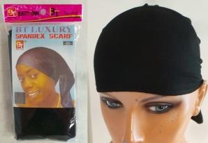 Wholesale Joblot of 50 Spandex Head Cover Wraps Black