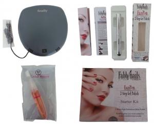 Joblot of 50 Mixed Nail Products - UV-Lamps, Polish Starter Kits & Nail Oil