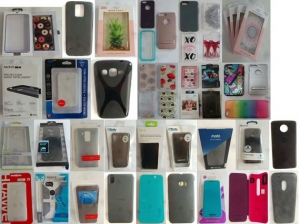 Wholesale Joblot of 1000 Assorted Mobile Phone Cases For Various Brands & Models