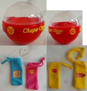One Off Joblot of 256 Chupa Chups Jewellery Boxes 2 Sizes & 10 Lollipop Sleeves