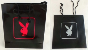 One Off Joblot of 169 Playboy Shop Bags For Retail 2 Sizes & Colours