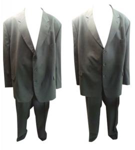 One Off Joblot of 7 Mens Varteks International Plus Size Grey Suits 2 Styles